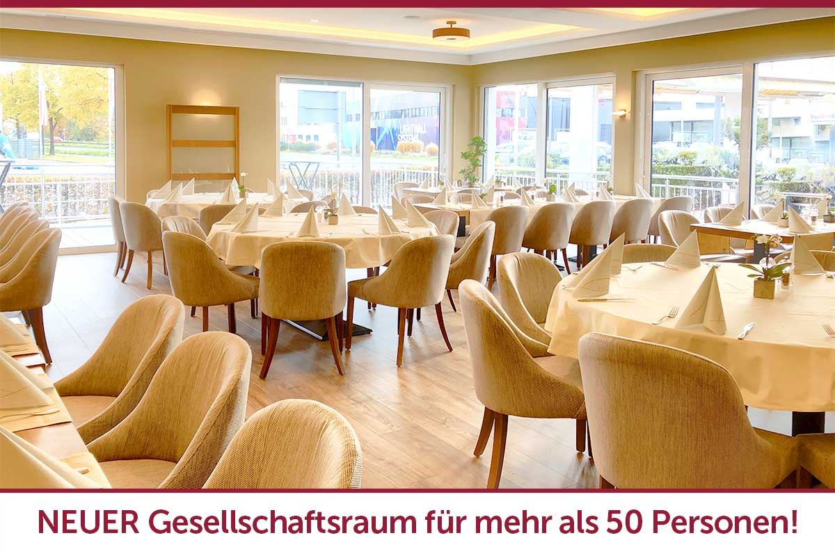 Hotel Restaurant am Fuhrkamp in Langenfeld hat neue Räumlichkeiten