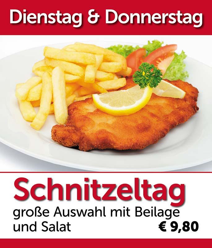 Schnitzeltag Restaurant am Fuhrkamp